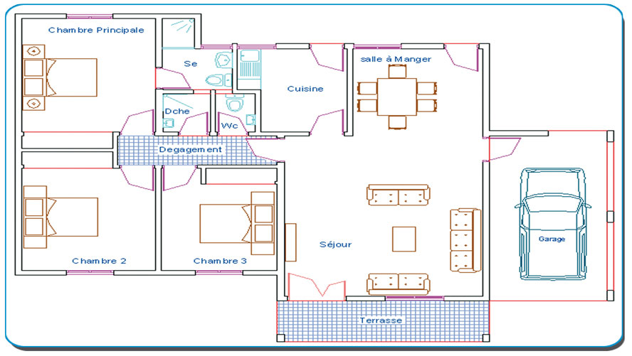 Plan Maison 5 Pices. Floor Plans Of Your Favorite Tv Shows With Plan